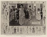 Twelfth Night at the Mansion House, Guests at the Children's Fancy Dress Ball