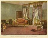 The Room in Kensington Palace in which the Queen was Born