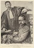 The Dreyfus Affair, the Trial of M Zola in the Assize Court, Paris