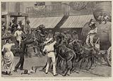The West Indian Sugar Trade, a Street Scene in Bridgetown, Barbadoes