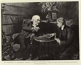 Mr Gladstone at Hawarden, playing a Game of Backgammon with his Son, the Reverend Stephen Gladstone