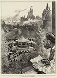 The Opening of the Band Season on the Embankment, A Sketch from the Savage Club