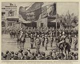 The Formal Annexation of the Orange Free State, saluting the Royal Standard at Bloemfontein