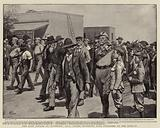 The Last Attack on Mafeking, BSA Police escorting Boer Prisoners to the Lock-up
