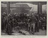 The Allied Troops in Peking, An Auction Sale of Loot