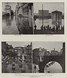 The Overflow of the Tiber, the Inundations in Rome