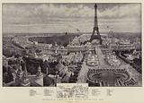 Bird's-Eye View of the Paris Exhibition, 1900