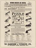 Advertisement, Gramophone