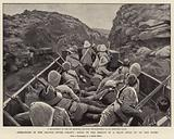 Operations in the Orange River Colony, going to the Rescue of a Train held up the Boers