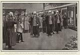 Queen Victoria's Funeral, the King and the Royal Mourners saluting as the Coffin was carried …