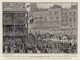 The Coronation Celebrations at Coventry, Lady Godiva in the Procession