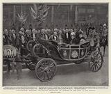 Westminster's Welcome, the Mayor presenting an Address to the King in the Strand