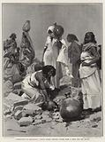 Campaigning in Somaliland, Native Women drawing Water from a Well for the Troops