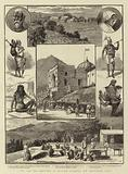 Pen and Ink Sketches in British Gurhwal, NW Provinces, India