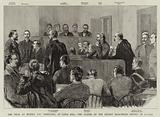 The Trial at Regina, North West Territory, of Louis Riel, the Leader of the Recent Half-Breed Revolt in Canada