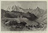 The Pass of Kamri, Himalaya Mountains, India, between Kashmir and the Indus