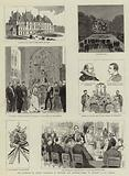 The Marriage of Prince Waldemar of Denmark and Princess Marie of Orleans at Eu, France