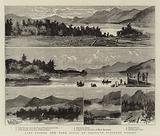 Lake George, New York State, an American Pleasure Resort
