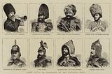 Some Types of Soldiers of the Russian Army