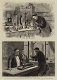 Monsieur Pasteur's Experiments for the Cure of Hydrophobia