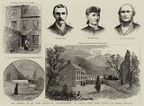 """The Murder of Mr John Curtin by """"Moonlighters"""" at Castle Farm, near Tralee, County Kerry, Ireland"""