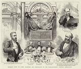 Banquet given to Lords Salisbury and Hartington by the Nonconformist Unionist Association