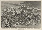 The Sporting and Military Show at Olympia, on the Road to Epsom on Derby Day