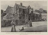 Appleton House, Norfolk, where the Honeymoon is being spent