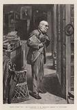 """Peace after Toil"", Mr Gladstone in St Deiniol's Library at Hawarden"