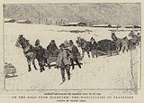 On the Road from Klondyke, the Difficulties of Transport