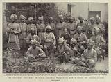 The Frontier Troubles in India, Colonel Warburton and a Group of Afridi Levies