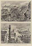 The Great Fire in the City, Bird's-Eye Views of the Ruins