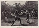 An Encounter with Rapiers in 1668, the Duel between the Duke of Buckingham and the Earl of Shrewsbury