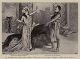 "M Isidore de Lara's New Opera ""Messaline"" at Covent Garden, Scene from Act III"