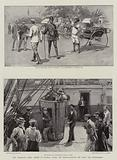 The Transvaal Crisis, Scenes at Durban, where the Reinforcements for Natal are disembarked