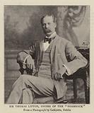 """Sir Thomas Lipton, Owner of the """"Shamrock"""""""
