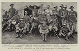 The War, Colonel RS Baden-Powell and some of the Officers who are defending Mafeking