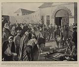 Victims of the Battle of Elands Laagte, Boer Prisoners arriving at Pietermaritzburg Gaol