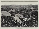 The Funeral of Mr Cecil Rhodes, lowering the Body into the Tomb in the Matoppos