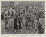 A Visit to the Colonial Coronation Contingents encamped at Alexandra Park, the Camp Guard