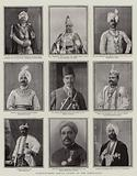 Distinguished Indian Guests at the Coronation