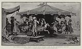 """The Merry-go-Round"", Smart Visitors to a Country Fair in the Eighteenth Century"