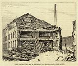 The Fatal Fall of a Chimney at Bradford, the Ruins