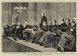 The Proposed Memorial to the Late Archbishop Tait, the Duke of Albany addressing the Meeting …