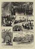 Prince Leopold's Visit to Colchester, and the Installation of Lord Brooke, MP, as Provincial Grand Master of Essex