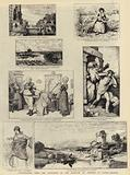 Illustrations from the Catalogue of the Institute of Painters in Water-Colours