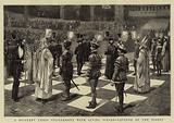 A Military Chess Tournament with Living Pieces, Capture of the Bishop