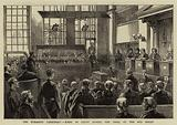 The Dynamite Conspiracy, Scene in Court during the Trial at the Old Bailey