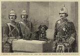 "A Heroine of Tel-el-Kebir, the Regimental Dog ""Juno,"" who stormed the Trenches with the Gordon Highlanders"