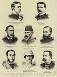 The Disaster in the Soudan, Portraits of Some of the British Officers and Others who are said …